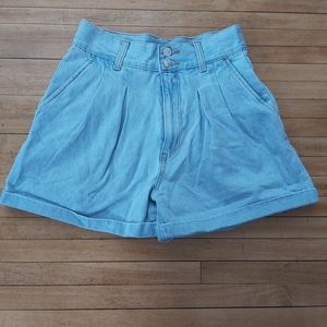 Forever 21 HighWaisted Mom Shorts